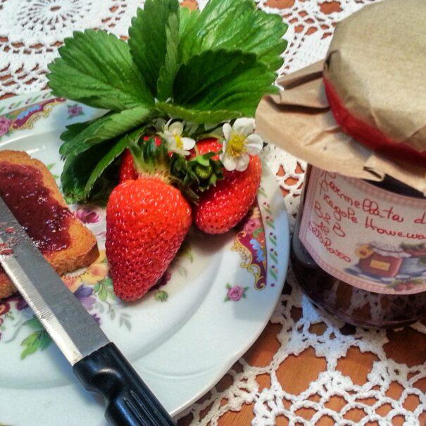 Marmellata con fragole a km0 di Acri